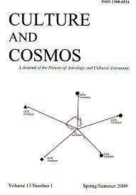 Culture and Cosmos Vol 13-1